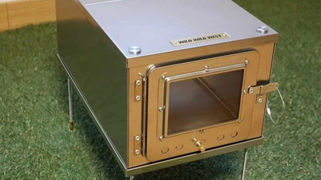 Luxe 3W Tent Wood Stove (Titanium)