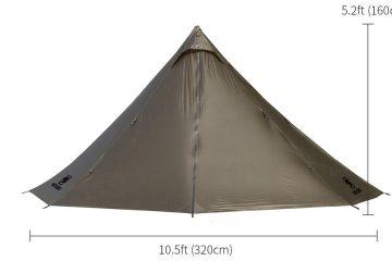 One Tigris Smoley HUT Hot Tent