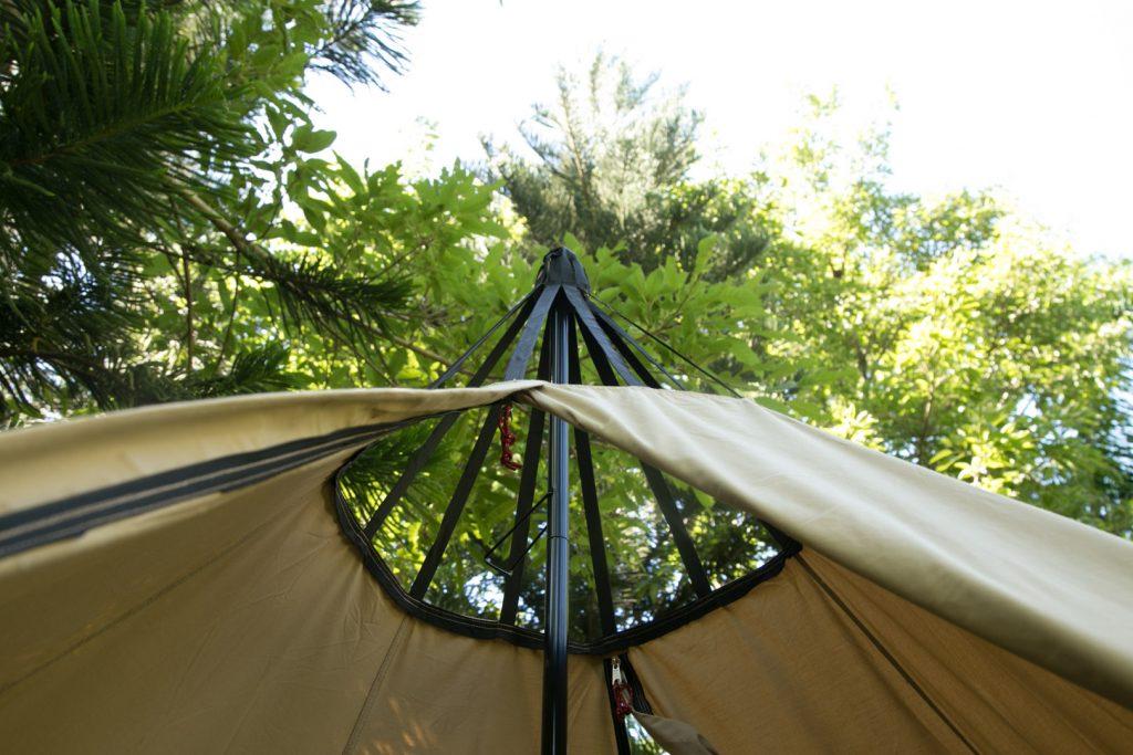 POMOLY HEX Canvas tipi Hot Tent